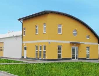 Budynek magazynowo-biurowy - ul. Nasienna Stargard